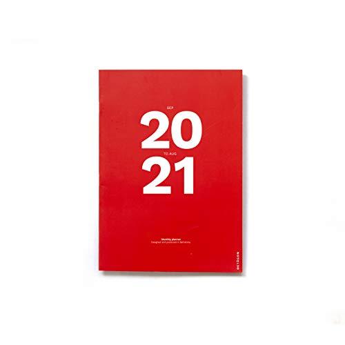 PLANIFICADOR MENSUAL SEPT20-AGO21 (A4) OCTAGON DESIGN