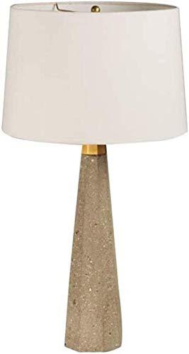 American Retro Loft Wind Lámpara de mesa de cemento Lámpara de mesita de noche con personalidad creativa Lámpara de lectura de ojos creativos 40 * 76 cm (E12 * 1)