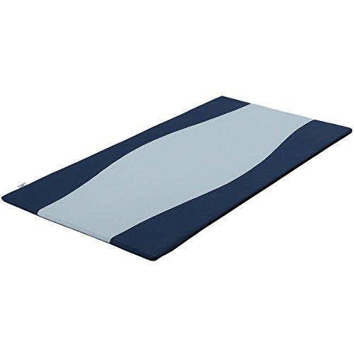 フランスベッド ベットパッド・敷きパッド ブルー 96x192x3cm