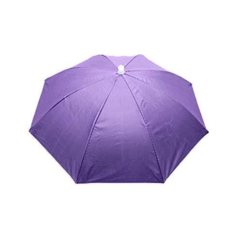 RFGHATG Opvouwbare Zon Paraplu Hoed Golf Outdoor Uv Tent Zwemmen Strand Vissen Camping Headdress Hoed