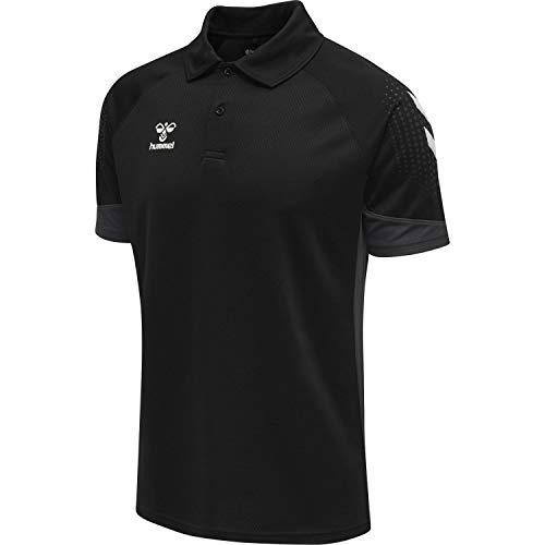 Hummel Lead Functional Polo-Shirt Kinder schwarz Gr 164