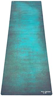 YOGA DESIGN LAB | The Combo Yoga MAT | 2-in-1 Mat+Towel | Eco Luxury | Ideal for Hot Yoga, Power, Bikram, Ashtanga, Sweat | Studio Quality | Includes Carrying Strap!