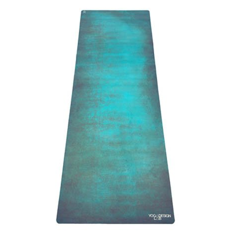 YOGA DESIGN LAB The Combo Yoga MAT Eco Luxury Mat/Towel That Grips The More You Sweat | Designed in Bali | Ideal for Hot Yoga, Bikram, Pilates, Barre, Sweaty Practice (Aadrika, 70 x 24)