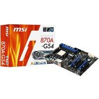 MSI 870A-G54 Mainboard AMD AM3 870/SB850 Sockel DDR3 Speicher ATX