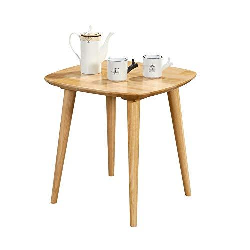 Desk XIAOLIN Nordic Houten Hoek Tafel Woonkamer Slaapbank Zijtafel Eenvoudige Kleine Koffie Tafel Bedkant Tafel Rubber Hout