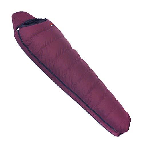 NANGA(ナンガ) 寝袋 アウトレット訳ありダウンシュラフ600レギュラー 下限温度-6度 プラム 右ジッパー