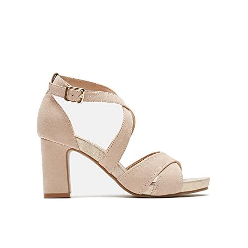 BATA Sandali con Cinturino alla Caviglia Donna