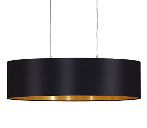 Eglo Maserlo 31611 Lámpara de techo con pantalla de níquel