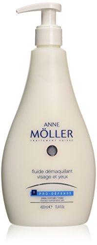 Anne Möller Fluide Démaquillant Visage Et Yeux - Loción anti-imperfecciones, 400 ml