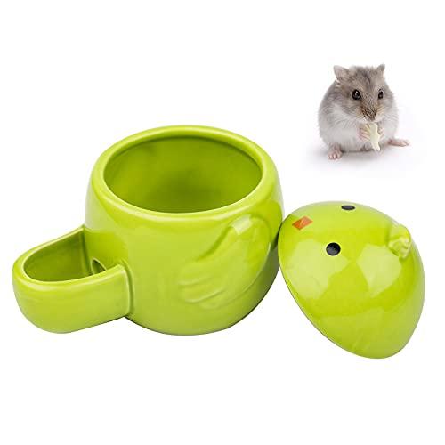 Johiux Bebedero Hamster,Bebedero de Automático Cerámica para Mascotas,Automático Comederos para Cobayas,Conejo,Erizo,Ardilla Animales Pequeños