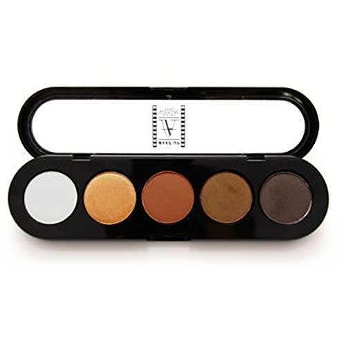 Paleta de Sombras T15 - Palette 5 Cores - Make Up Atelier Paris