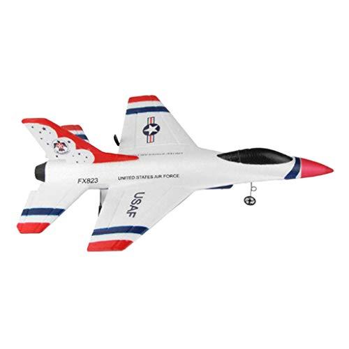Baoblaze Maqueta de Avión de Combate Militar Eléctrico 2.4G Radiocontrol Juguete Educativo...