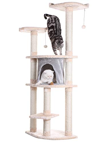 Best cat tower tall narrow for 2020