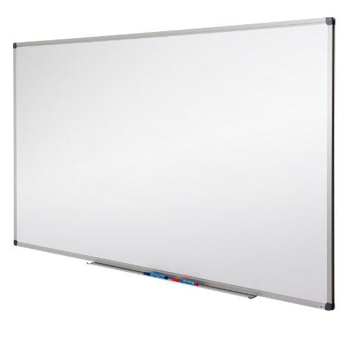 MOB Profi-Whiteboard Magnettafel - 120x90cm - emailliert, Alurahmen, magnetisch - für Büro, Gewerbe und Privat