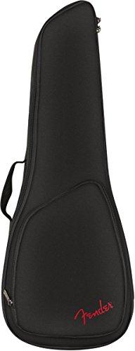 Fender® FU610 - Bolsa para ukelele de concierto, color negro