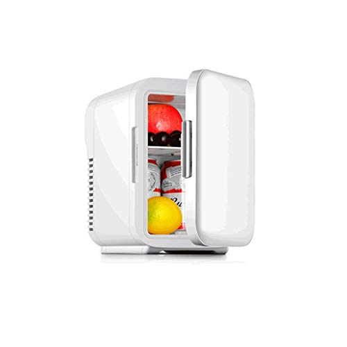 Refrigeración 5 litros de Mini compresor frigorífico pequeño Dormitorio pequeño Mini Nevera Coche de Alquiler de Taxi a casa de Doble Uso Hermoso (Color : A, Size : 5L)