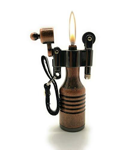 Quirky Vintage look antieke bronzen benzine aansteker