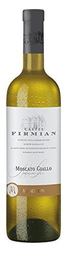 6x 0,75l - 2019er - Castel Firmian - Moscato Giallo - Trentino D.O.P. - Italien - Weißwein lieblich