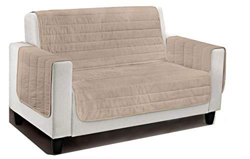 Casatessile Relax Couch-Abdeckung und gepolstertes Sofa Decken Verschiedene Maßnahmen - Marrone, 2 SITZEN