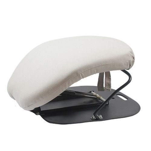 NADAENAM Ergonomischer Sitzunterstützungs-Plus-Sitz mit autarker Sitzunterstützung für ältere, behinderte oder behinderte Menschen,Grau
