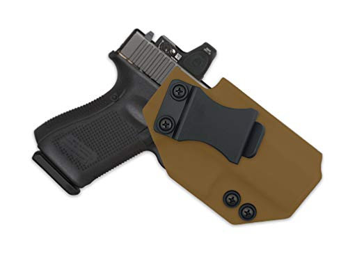 MIE Productions: IWB Holster w/FOMI Clip for FNH FN 509T w/Optic (FDE - Right Hand, FN 509T - Standard)