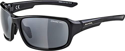 Alpina Lunettes de sport LYRON - Noir/gris brillant - Taille unique