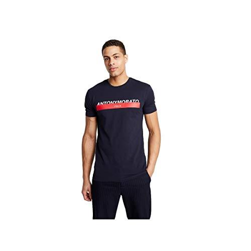 Antony Morato Camiseta Logo Marino Hombre