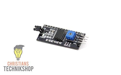 I2C IIC Serielle Schnittstelle für LCD Display 1602 und 2004 | Christian's Technikshop