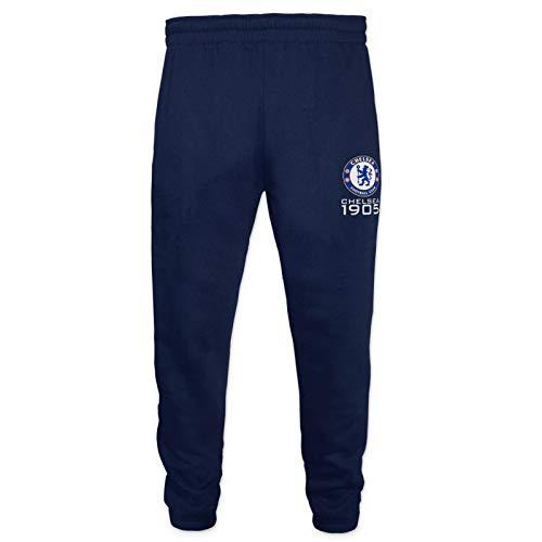 Chelsea FC - Jungen Jogginghose Slim Fit - Offizielles Merchandise - Geschenk für Fußballfans - 12-13 Jahre