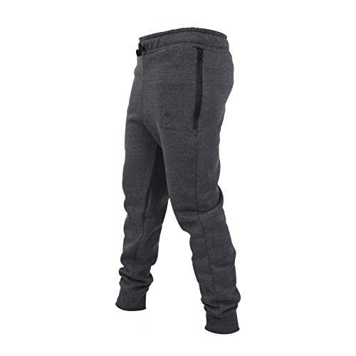 bazix republiq Pantalones de chándal para hombre, corte ajustado con bolsillo grande,...
