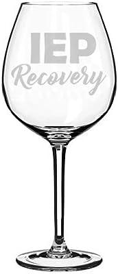 Wine Glass Goblet Special Education Teacher IEP Recovery (20 oz Jumbo)