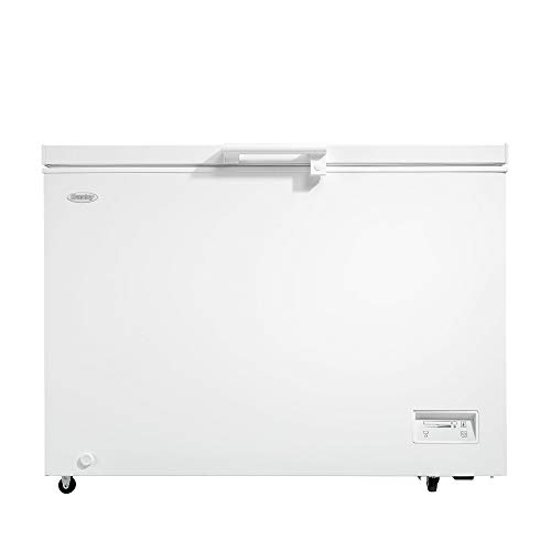 Danby DCFM110B1WDB 11 Cubic Feet Large Sized Freestanding Freezer Storage Chest with Manual Defrost for Kitchen, Basement, or Garage, White