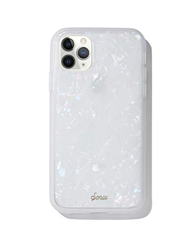Sonix Pearl Tort Case for iPhone 11 Pro [10ft Drop Tested] Protective Translucent Iridescent White Marble for Apple iPhone 11 Pro