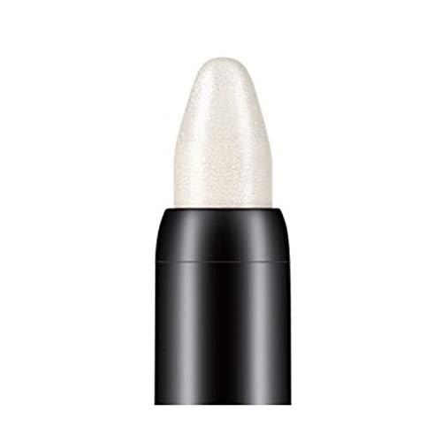 Fards à paupières,10 couleurs Crayon à paupières de beauté de surligneur-Lonshell (Blanc)