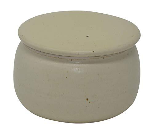 Original Französische Wassergekühlte Keramik Butterdose, Keine Harte Butter Zum Frühstück Mehr, Immer Frische Und Streichfähige Butter, ca 250 gr Butter, AG-Pur B-G