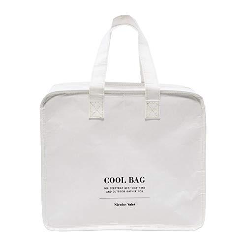 Nicolas Vahé 106380110 - Bolsa de refrigeración, color blanco, ancho: 28 cm, altura: 24 cm, plástico