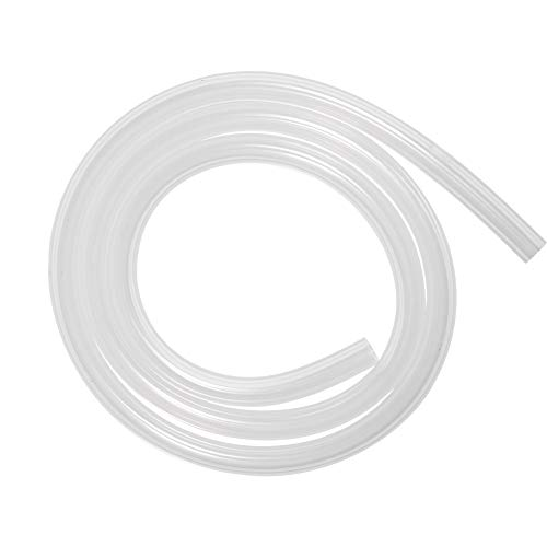 Quickun Pure Silicone Tubing, 4mm ID x 6mm OD High Temp Food Grade Tube Pure Silicone Hose Tube for Home Brewing, Beer Line, Kegerator, Wine Making, Aquaponics, Air Hose by Proper Pour (3.28 Ft)