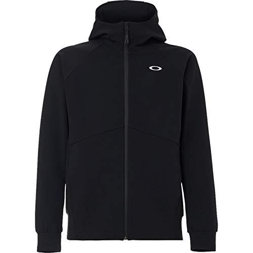 Oakley Men's Enhance QD Fleece Jacket 11.0, Blackout, XX-Large