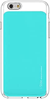 "Apple iPhone 6s Plus / 6 Plus 5.5"" i-Slide Ultra Slim Card Case 2 Card Slots Pockets Wallet Case by Skinplayer (Clear / Mint)"