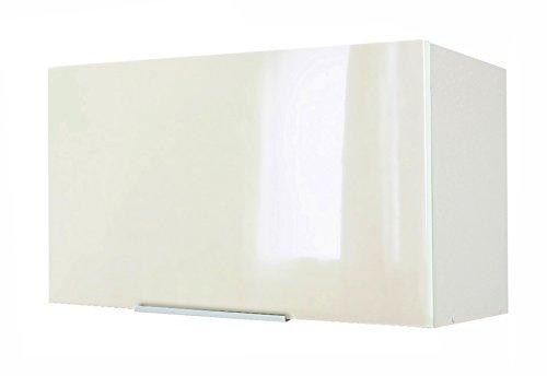 Berlioz Creations Subwoofer Alto di casa su Cappa 60, Pannelli di Particelle, Avorio Lucido, 60x 34x 35cm