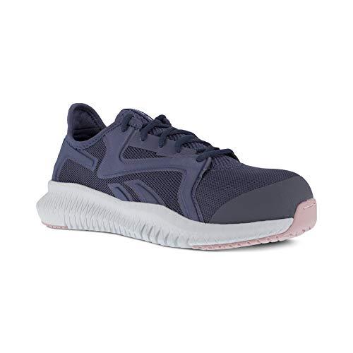 Reebok Work Flexagon 3.0 - Zapatos de trabajo atléticos con punta de seguridad para mujer, azul (Azul / Patchwork), 40 EU
