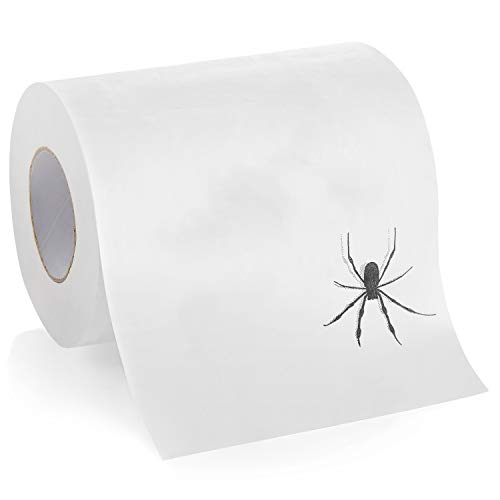 Laila and Lainey Spider Funny Toilet Paper - Prank, Practical Joke, or Gag Gift - Funny White...