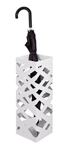 Haku Pied de Parasol en métal laqué Blanc, 26329