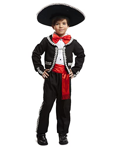 Dress-Up-America Traditional Mariachi Costume For Boys - Mexican Dress Up Set For Kids - Jacket, Pants, Bow-Tie And Sash