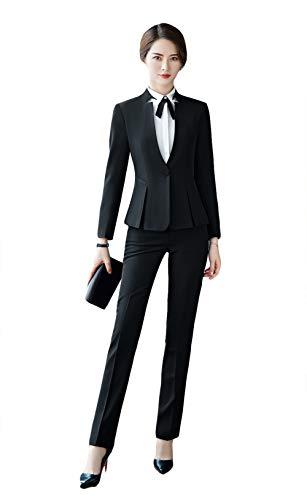 SK Studio Femmes Entreprise Blazer Tailleurs Pantalons Tailleur-Jupes De Bureau 2 Pièces Costume Manteau