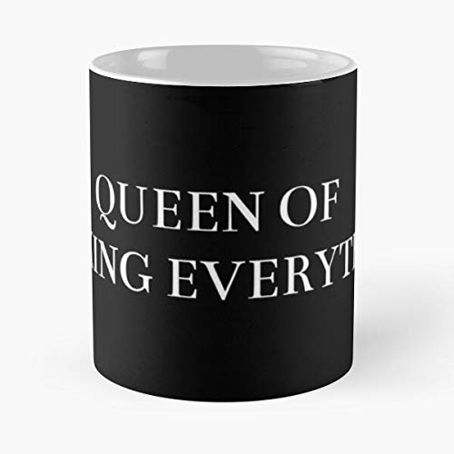 Quote Funny Relatable Music Fashion Queen Millenials 5Sos - summer- Novelty ceramic coffee mug holds 11OZ and 15OZ - Trendy design printed Customize