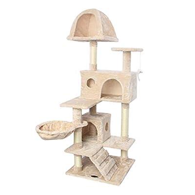 Amazoncom  CUPETS Cat Tree Flannelette Cat Climber