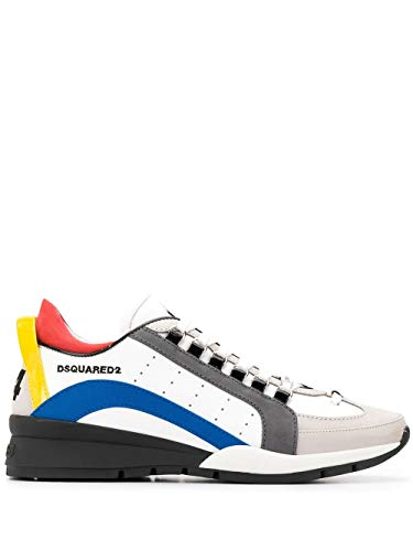 DSQUARED2 Luxury Fashion Herren SNM050501502559M313 Weiss Sneakers |