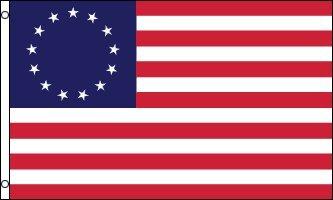 AZ FLAG Flagge USA 13 Sterne Betsy Ross 150x90cm - VEREINIGTEN Staaten ALT Fahne 90 x 150 cm - flaggen Top Qualität