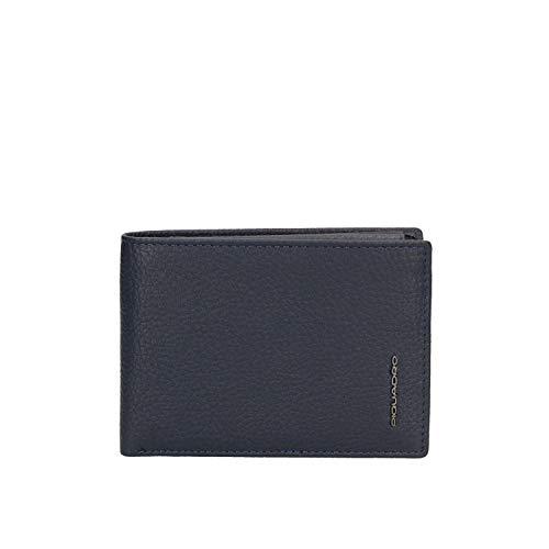 Piquadro Modus Special Porta Assegni, 12 cm, Blu